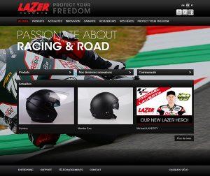 Lazer eBusiness website