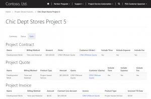 PSA customer portal
